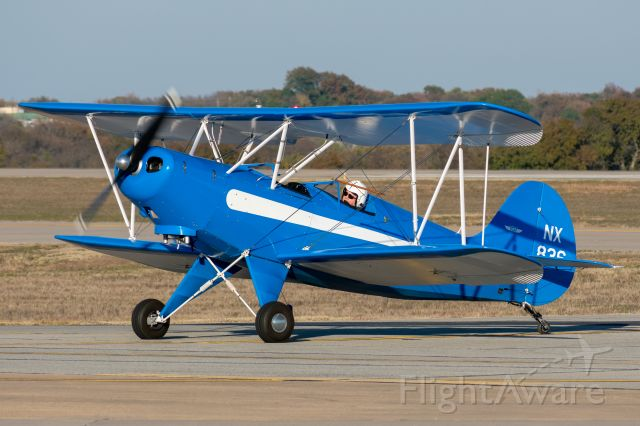 N836 — - A Hatz Classic taxiing in after landing at McKinney National Airport, Texas. Taken November 9th, 2019.