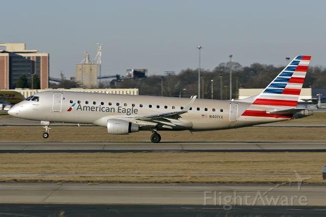 Embraer 170/175 (N401YX) - E170
