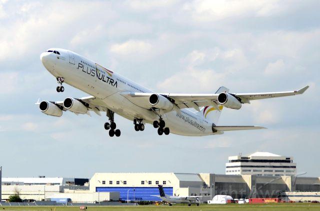 Airbus A340-300 (EC-FMB) - Chartered by Sata Internacional