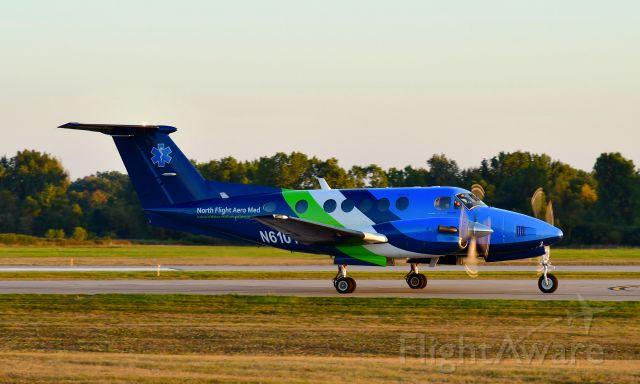Beechcraft Super King Air 300 (N610TA) - North Flight Beechcraft Super King Air 300 N610TA in Ann Arbor