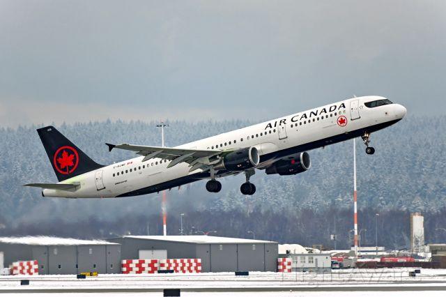 Airbus A321 (C-GJWI)