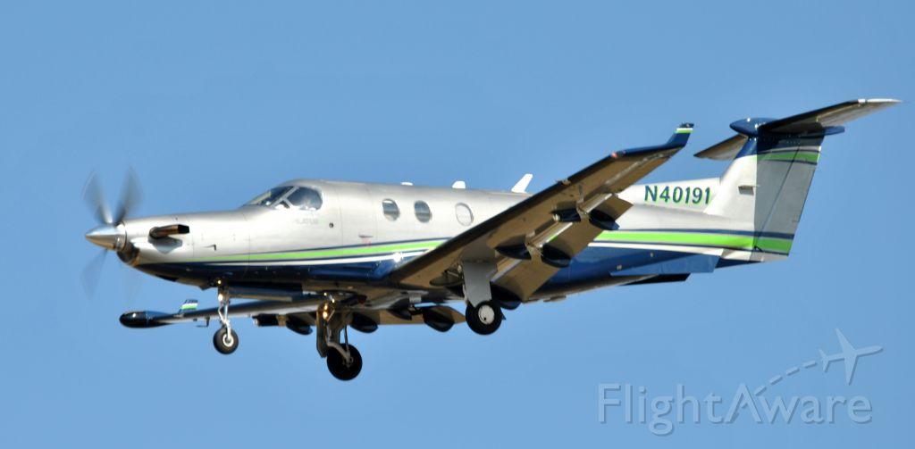 Pilatus PC-12 (N40191)
