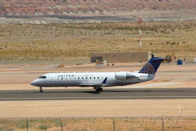 Canadair Regional Jet CRJ-200 (N903EV) - 08/11/2020 ship 903 departure to KDEN