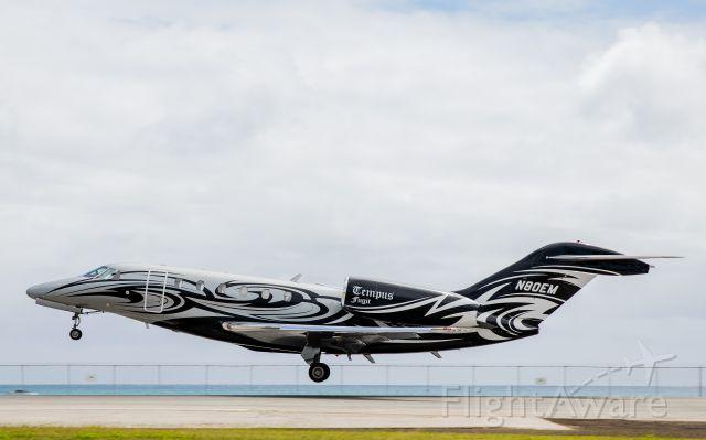 Cessna Citation X (N80EM) - East Ramp