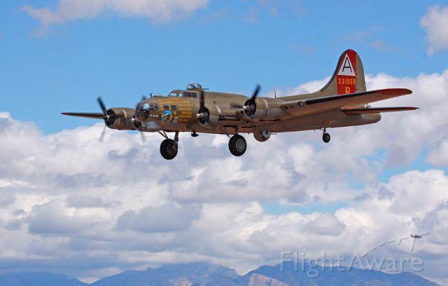 Boeing B-17 Flying Fortress (N93012) - Marana