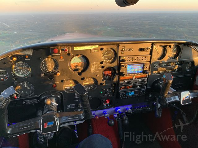 Piper PA-24 Comanche (N7486P)