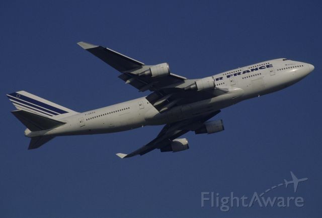 Boeing 747-400 (F-GEXA) - Departure at Narita Intl Airport Rwy16R on 1998/12/13