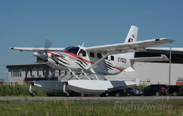 Quest Kodiak (C-FSCO) - Visiting CYHU in June 2021