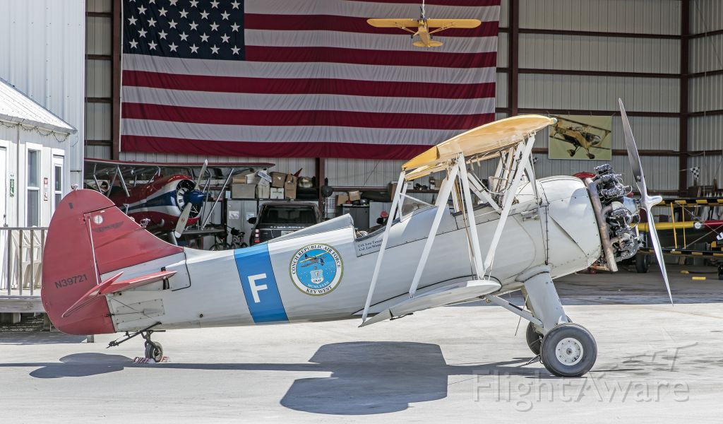 Piper Lance 2 (N39721) - 1942 Waco UPF-7 C/N 5854 at Key West in June 2016