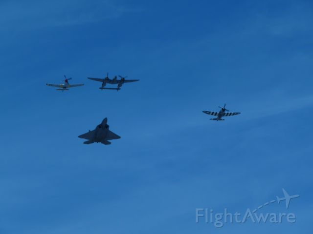 — — - 2014 Planes of Fame Air Show Heritage Flight