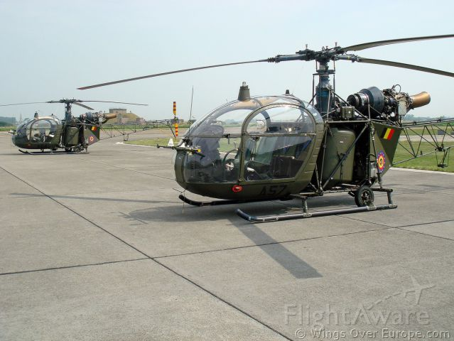 ALOUETTE2 — - first Heli of the world with Turbine engine - Army