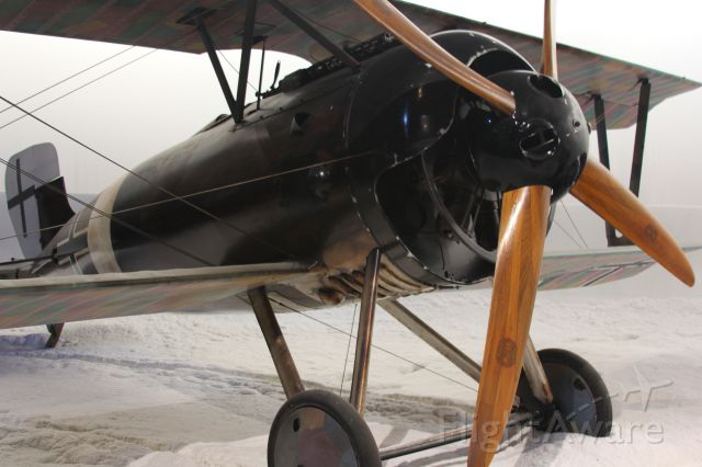 — — - Unknow WW1 German plane on display at the Amaka Aviation Heritage Center Blenheim, New Zealand