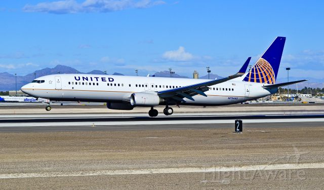 Boeing 737-900 (N73445) - N73445 United Airlines Boeing 737-924ER C/N 40000/3615  - Las Vegas - McCarran International (LAS / KLAS) USA - Nevada, January 7, 2012 Photo: Tomás Del Coro