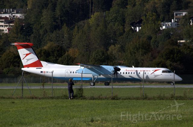 de Havilland Dash 8-400 (OE-LGE)