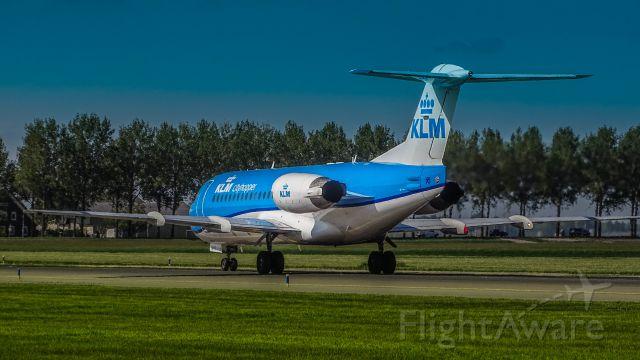 Fokker 70 (PH-KZM)