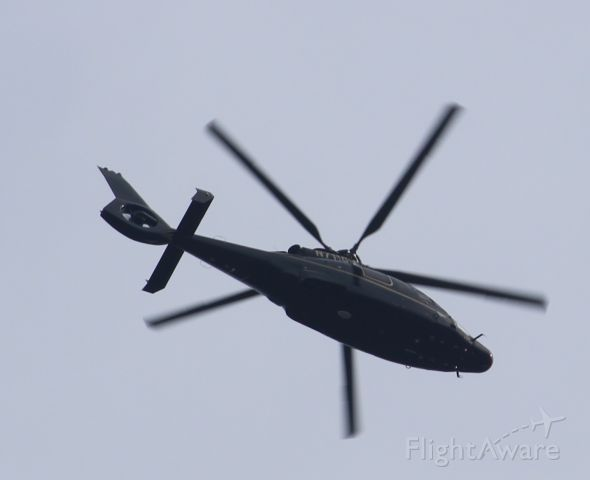 Eurocopter EC-155 (N711GN) - Standing at American Keswick, NJ
