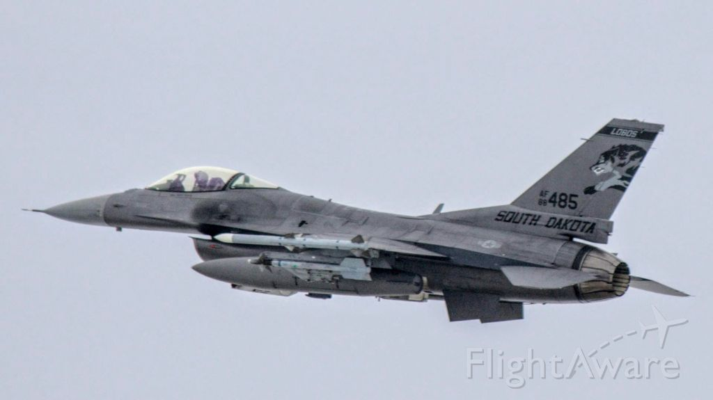 Lockheed F-16 Fighting Falcon (88485) - #88-485 (F-16C Block 40)br /South Dakota Air National Guard 114th Fighter Wing / 175th Fighter Squadron