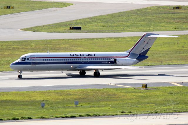 McDonnell Douglas DC-9-30 (N231US) - USA Jet Airlines Flight 231 (N231US) departs Runway 1R at Tampa International Airport enroute to Gerald R Ford International Airport