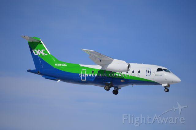 Fairchild Dornier 328JET (N394DC) - LYM3307 on short-final for 13, arriving from Boise (KBOI/BOI) before continuing on to Portland (KPDX/PDX).