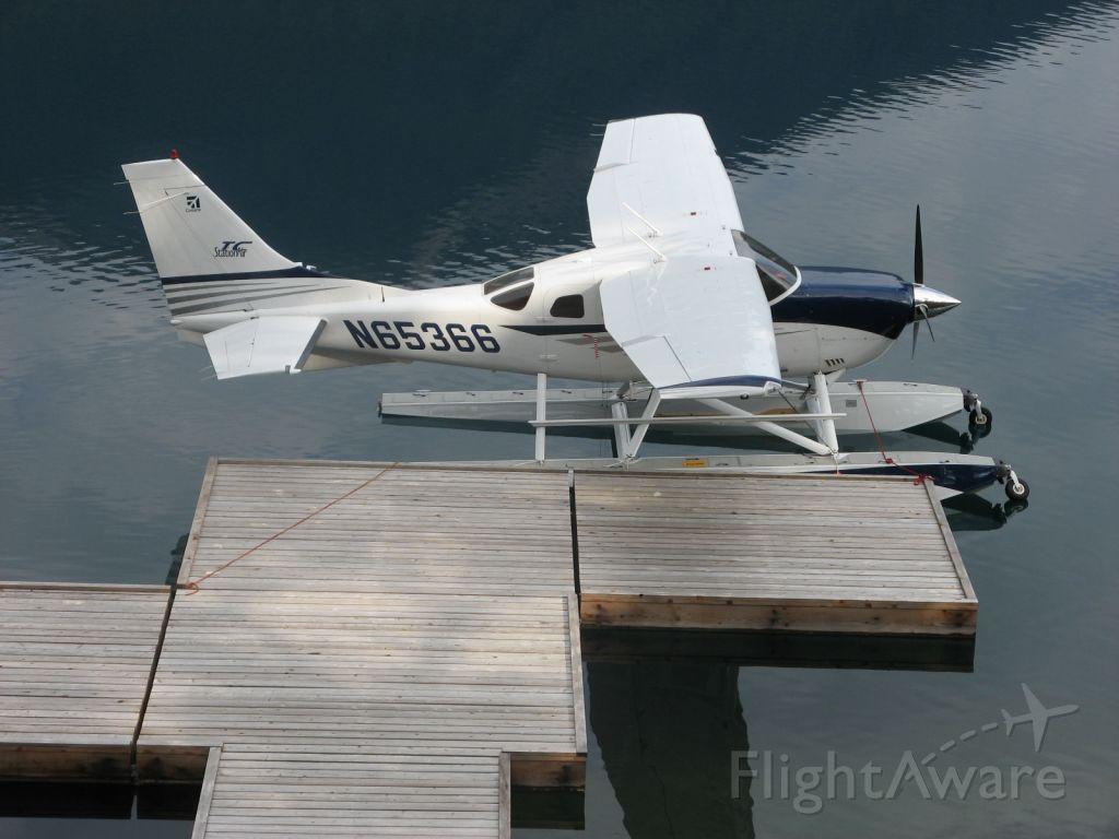 Cessna 206 Stationair (N65366) - amphibian