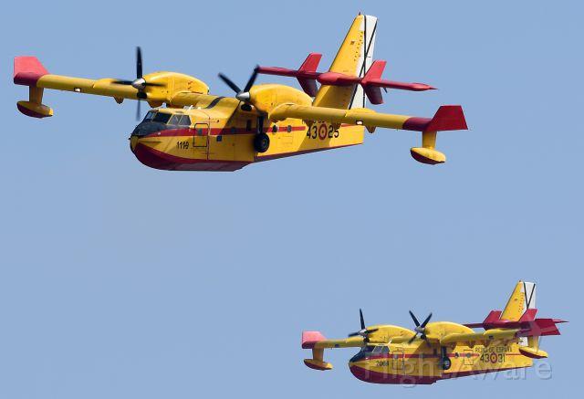 Canadair CL-415 SuperScooper (HER1325) - Registration UD.13-25