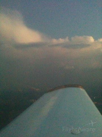 Piper Cherokee (N47950) - enroute to KAQO from KGTU