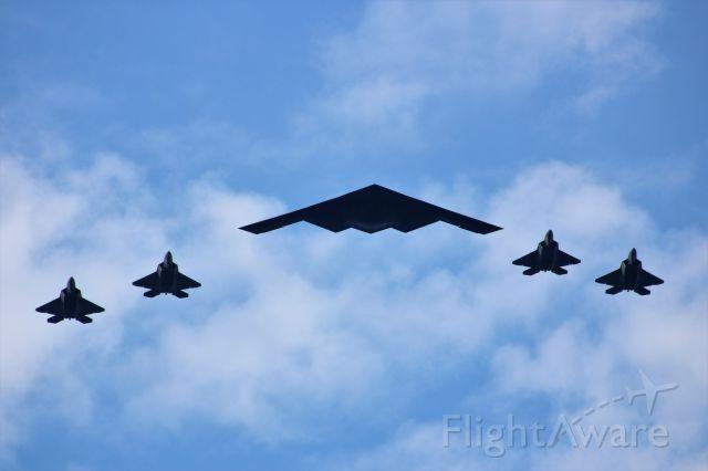 Northrop Spirit — - USAF flyover of NYC for July 4, 2020