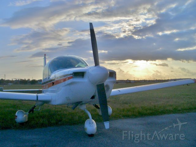Beechcraft Baron (58) (N26724) - Good day of flying ends...