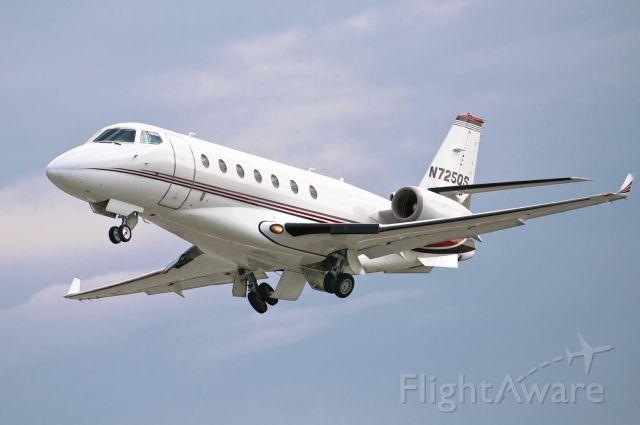 IAI Gulfstream G200 (N725QS) - Departing Hickory on Runway 24 - 29_June_2008