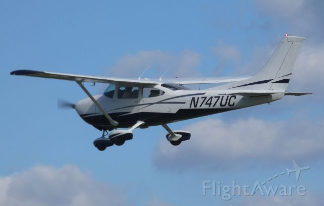 Cessna Skylane (N747UC) - A moment after departure is this Cessna Skylane in the Summer of 2018.