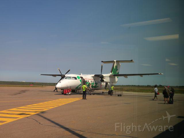 de Havilland Dash 8-100 (C-FGRP) - At Havre-au-Maisons, Magdalen Islands, Québec, Canada