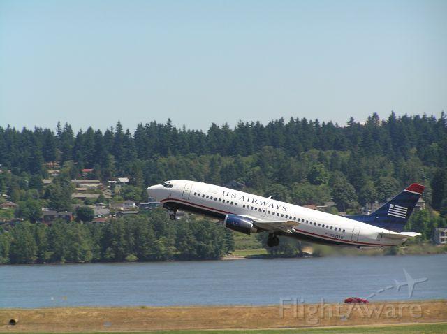 BOEING 737-300 (N334AW) - Photo taken July 6, 2011