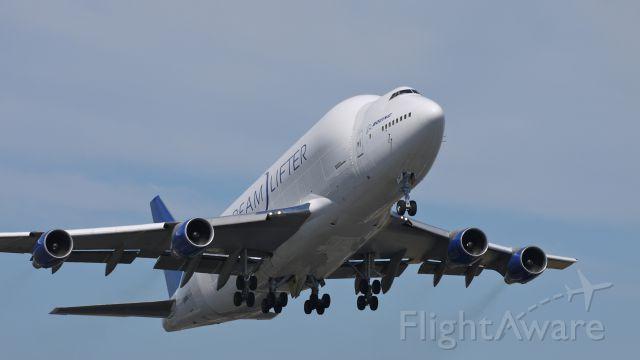 Boeing 747-400 (N747BC) - GTI4532 departs runway 16R for KCHS on 8/28/11. (LN:904 cn 25879).