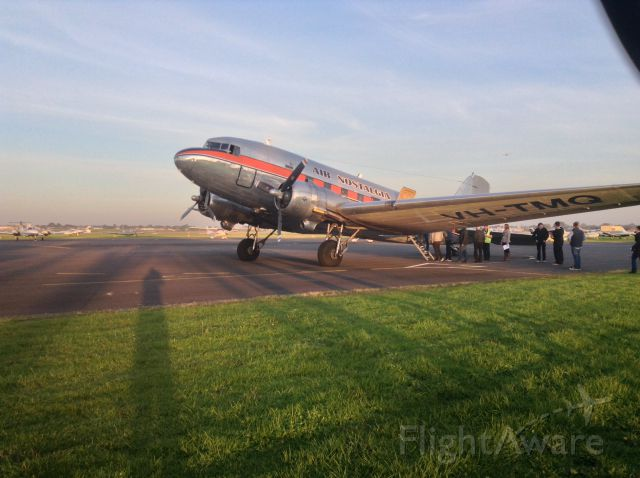 Douglas DC-3 (VH-TMQ) - Moorabbin airport
