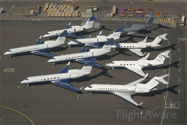 Gulfstream Aerospace Gulfstream V — - Pack em tight...!!!