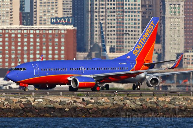 BOEING 737-300 (N206WN)
