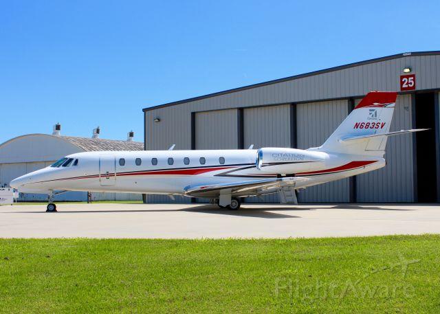 Cessna Citation Sovereign (N683SV) - At Shreveport Regional. 2005 Cessna 680