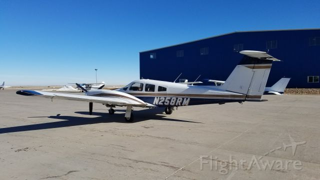 Piper PA-44 Seminole (N258RM)