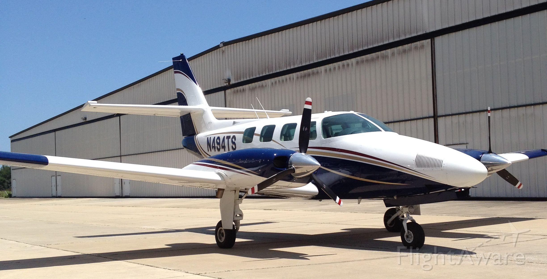 Cessna T303 Crusader (N494TS) - Cessna Crusader