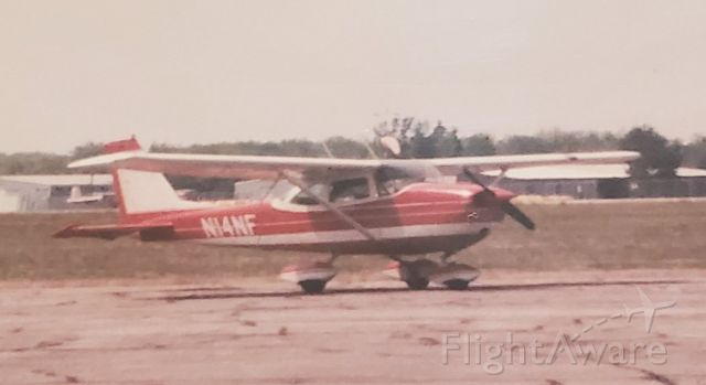 Cessna Skyhawk (N14NF) - What it looked like from the factory!