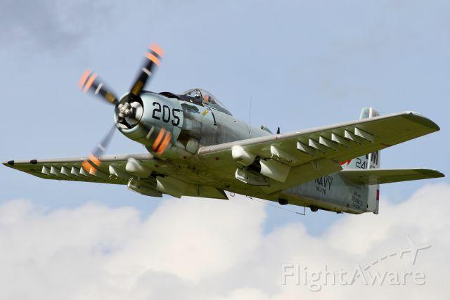 F-AZDP — - Douglas AD-4N Skyraider