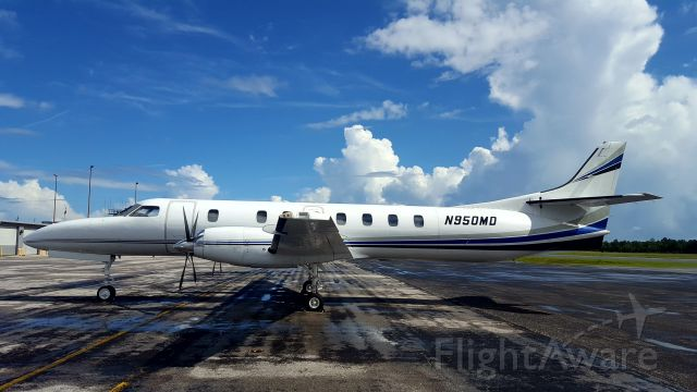 Fairchild Dornier SA-227DC Metro (N950MD) - WX Diversion