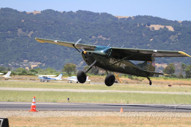 Cessna 170 (N170V) - STOL competition at Tracy, CA