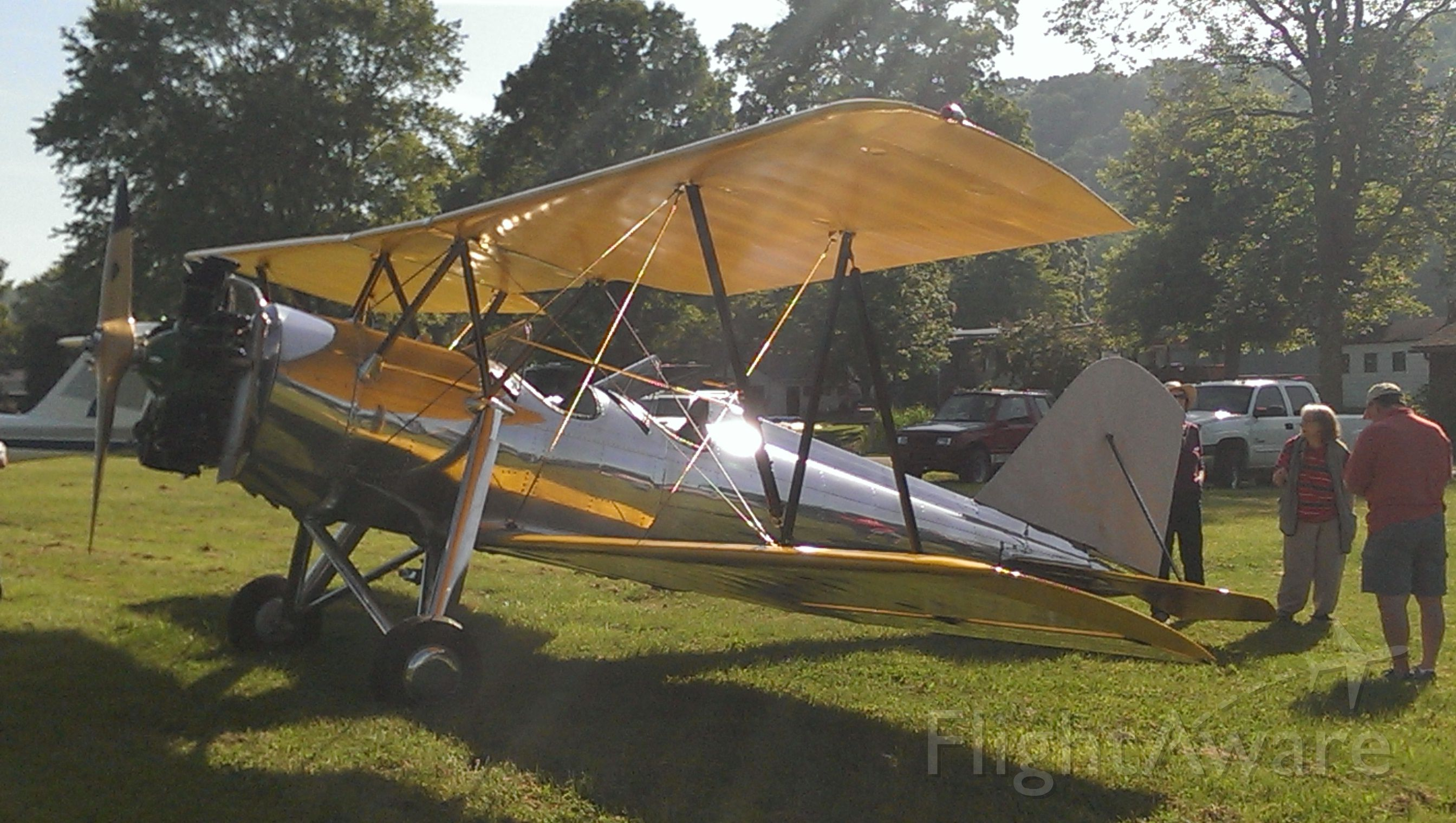 — — - unknown, any info welcome, Ohio EAA Fly-In, September, 2014