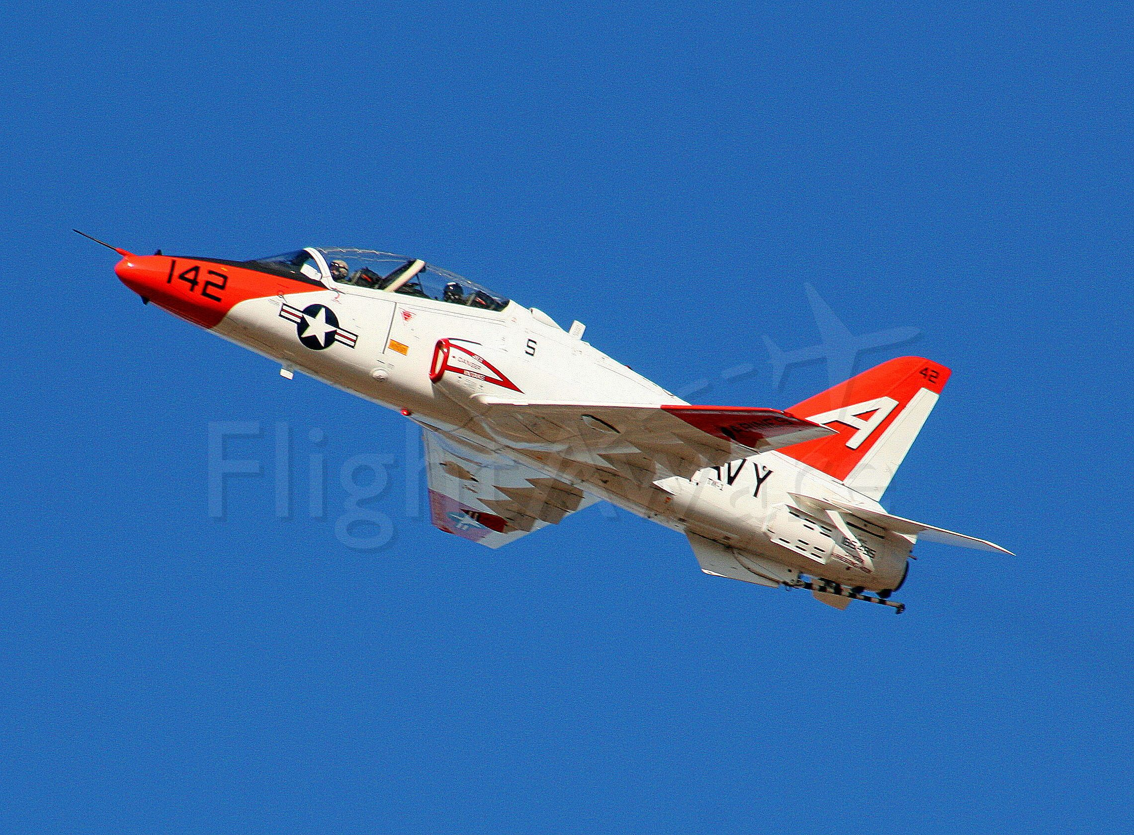 16-5142 — - Bobcat 2-7 from VT-7 Strike Eagles of TW-1 departs runway 25 for NAS Meridian MS.