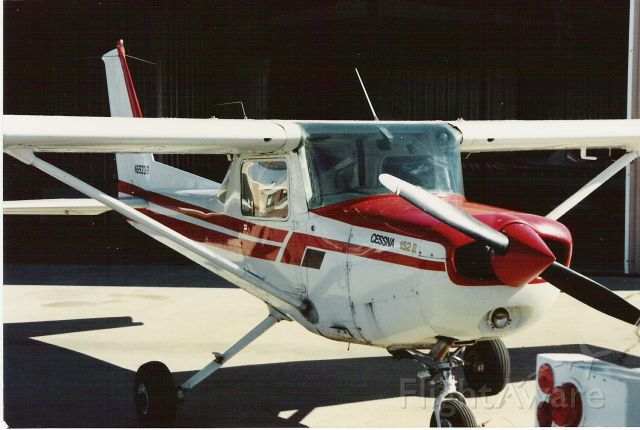 Cessna 152 (N69238) - Circa 1988 at KGPM in front of the local flight school.