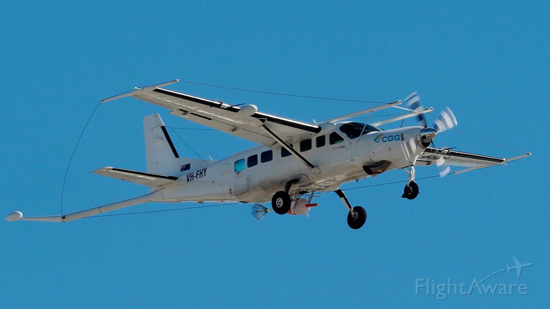 Cessna Caravan (VH-FHY) - Cessna 208B cn 208B0764. CCG DATA Service VH-FHY YPJT 24th July 2020.