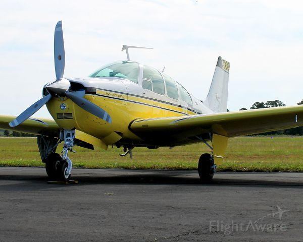 Beechcraft Bonanza (33) (N7741R) - On the ramp at Sky Harbor Aviation