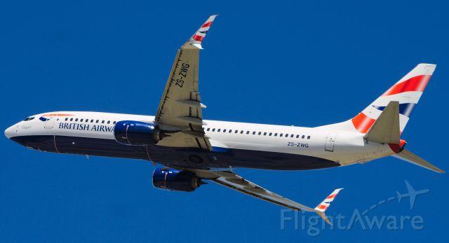 Boeing 737-800 (ZS-ZWG)