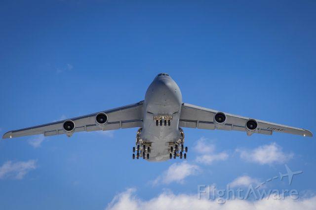 Lockheed C-5 Galaxy — - C-5 Galaxy from Westover on final to KBGR.